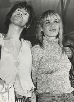 Anita Pallenberg and Keith