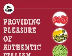 Clada, Catalogo 2015 prodotti alimentari Brochure Food, Brochures