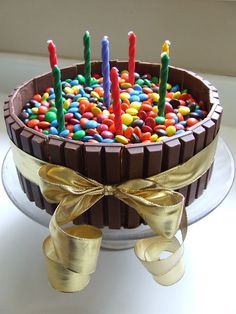 Waltzing Matilda's Amazing Bowl of Candy cake!