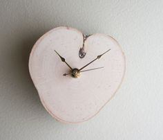 White Birch Clock