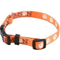 Clemson Tigers Dog Collar - Medium