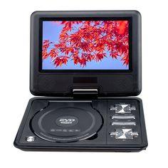 9.8 Inch NS-989 LCD Screen Portable DVD EVD Player with VCD CD MP3/4/ USB/SD/MMC GAME,Black