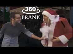 360 Video Guy Pulls Santa's Beard Prank - You Won't Believe What Happens...