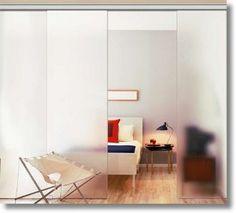 Sliding glass doors  Automatic internal and external glass doors