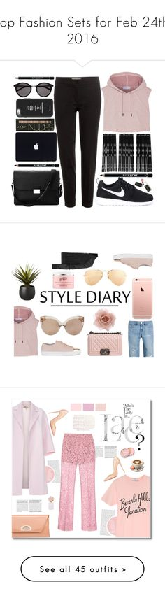 """""""Top Fashion Sets for Feb 24th, 2016"""" by polyvore ❤ liked on Polyvore featuring adidas, Etro, NIKE, Aspinal of London, Givenchy, Yves Saint Laurent, Monki, Sigma Beauty, women's clothing and women"""