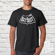 Batman tshirt Batman costume Funny batman tee Superhero by TeeClub