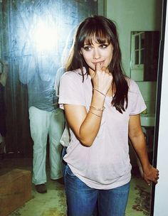 I have a pretty serious girl crush on Rashida Jones