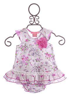 Baby Nay Baby Girls Bloomer Set|Baby Nay $58.00