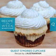 Quest S'mores Cupcake