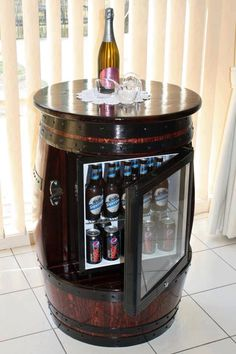 Barrell fridge