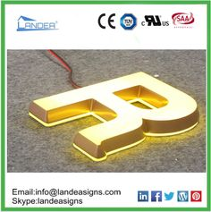 Led acrylic letters, Led acrylic letters direct from Shenzhen Landea Signs Co. in China (Mainland) Acrylic Letters, Shenzhen, Signage, China, Led, Billboard, Signs, Porcelain