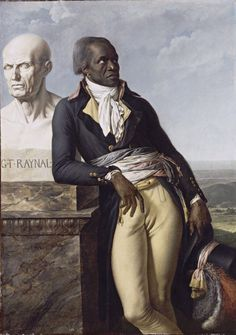 Art History Archive, this cover image is by Anne Louis Girodet - Portrait of Jean-Baptiste Belley - 1797