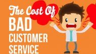 The cost of bad customer service and how to resolve that on social media