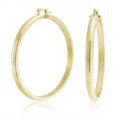 Designer Clothes, Shoes & Bags for Women Yellow Jewelry, Yellow Earrings, Gold Hoop Earrings, Women's Earrings, Gold Hoops, Bling Jewelry, Silver Jewelry, Discount Jewelry, Gold Filled Jewelry