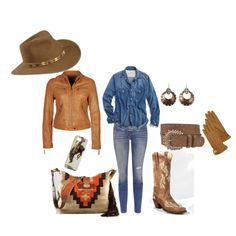 A Day on the Ranch on Polyvore