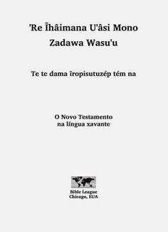Projeto Luz e Vida: Missão Amazônia: O Novo Testamento na Língua Xavante - Edição 2004