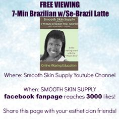 Like Smooth Skin Supply on facebook...