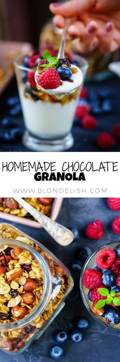 Learn how to make Chocolate Granola at home. I also made a list of 9 granola benefits that you need to know if you want to include it in your diet.