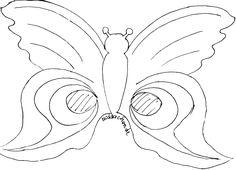 farsang álarc papírálarc sablon álarcsablon álarckészítés Flugblatt Design, Butterfly Mask, Diy Projects, Symbols, Letters, Costumes, Halloween, Blog, Kids