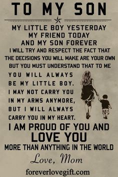 Mother Son Quotes, Son Quotes From Mom, Mothers Love Quotes, My Children Quotes, Mommy Quotes, Quotes For Kids, Family Quotes, Child Quotes, Quotes About My Son
