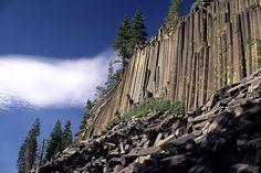 Devil's Postpile, John Muir Trail