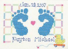 """Janlynn 000-3051-18 Baby Feet #5118, 6"""" x 4.5"""" Janlynn 000-3051-18 Baby Feet #5118, 6"""" x 4.5"""" #timelesstreasure"""