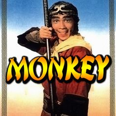 Monkey I loved the theme music and probably one of the few people who actually bought it on single. 80s Kids Shows, 60s Tv Shows, Monkey Tv Series, 1980s Tv, 1970s, Journey To The West, Monkey King, Kids Tv, Great Tv Shows