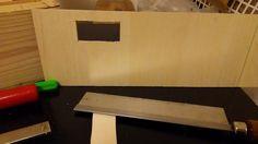 自作楽器研究所|Homemade Instruments: ニス塗装のために一回電子部品をはずして、ついでに木工作業|自作電子ピアノ