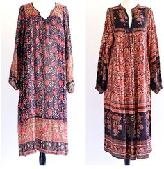 #vintage #bohemian Abaya Fashion, Boho Fashion, Fashion Ideas, Estilo Hippy, Bohemian Gypsy, Vintage Bohemian, Quoi Porter, Gauze Dress, Boho Look