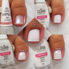 60 Ideas for pedicure polish toe How To Do Nails, My Nails, Summer Toe Nails, Toe Nail Designs, Healthy Nails, Beautiful Nail Art, Perfect Nails, Manicure And Pedicure, Pedicure Tools