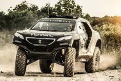 Peugeot 2008 DKR Rally Dakar