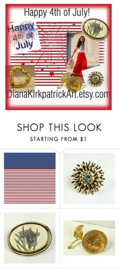 Happy 4th of July! by diana-32 on Polyvore featuring Barlow and vintage
