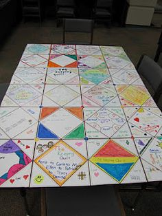 """Create a """"keeping quilt"""" using CTP's  10"""" Quilt Squares.   http://tommiestools.blogspot.com/2012/02/keeping-quilt.html"""