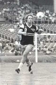One of my earliest soccer heroes, Rudy Glenn, of the Chicago Sting.
