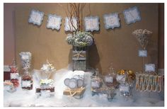 Beach Themed Candy Table   by:The Candy Brigade