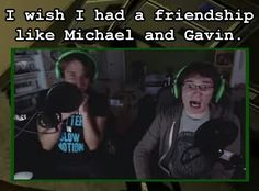 Michael and Gavin Roster Teeth, Achievement Hunter, Red Vs Blue, I Wish I Had, Lets Play, All Video, Rwby, Hunters, Youtubers