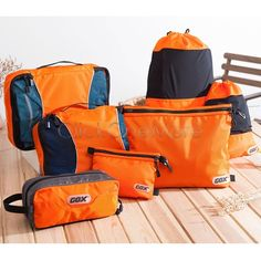 MX - 7x Sport Travel Organizer Tidy Bags Cosmetic Toiletry String Shoes Backpack ~~~~Bagage Set Choice