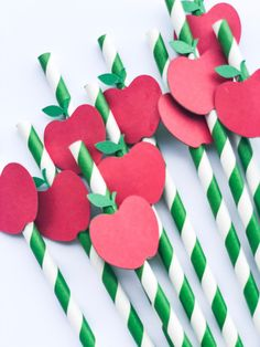 Tips and Trick on Birthday Party Ideas Apple Theme Parties, Apple Birthday Parties, Red Birthday Party, Snow White Birthday, Fall Birthday, 1st Birthday Girl Decorations, Paper Party Decorations, Apple Decorations, Back To School Party