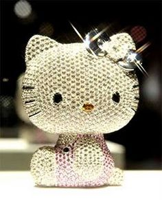 The ultimate Hello Kitty doll was unveiled at Switzerland's Baselworld watch and jewelry show and is valued at 15 million yen—about US $167,000!