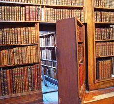 This Murphy Door Kit Lets You DIY Your Own Hidden Door Bookcase Door, Kids Bookcase, Murphy Door, Panic Rooms, Door Kits, Unique Gifts For Women, Secret Closet, Secret Rooms, Diy Door