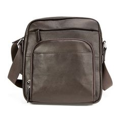 Business accessories and backpacks crafted with durable leather and ample space to keep you secure and organized. Cowhide Leather, Leather Men, Pen Holders, Brushed Nickel, Shoulder Strap, Pouch, Mens Fashion, Ipad Pro, Espresso