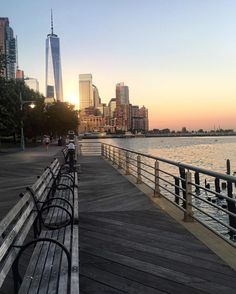 Hudson River Walk at Canal Street by @scottlipps