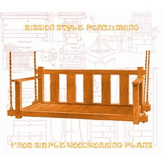 Wood Furniture Plans Authentic Mission by WoodworkingPlans4you, $5.95