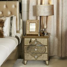 A feast for the eyes the Arabian collection from UniqueChic Furniture transforms bedrooms and living rooms into lavish luxury havens steeped in