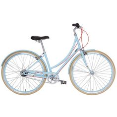 Public women's bicycle :C8 Bicycle Medium Blue now featured on Fab.