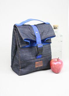 Lunch bags, lunch bag tote, lunch bag waxed canvas, bolsa de almuerzo, waxed canvas tote, lona encerada, lunch bag leather, tote waxed canvas, bolsa de merienda, bolso para la merienda,sac á lunch, lunch bag denim.