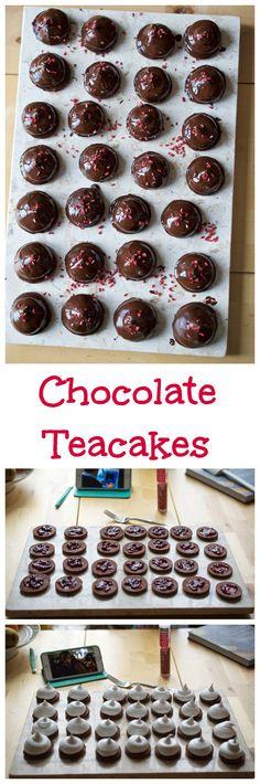 Chocolate Teacakes