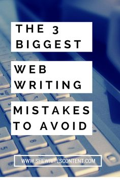 Wondering why your blog bounce rate is so high? Maybe you're making one of these major web writing mistakes. Read more to find out how to fix them... Bounce Rate, Mistakes, Things That Bounce, How To Find Out, Blogging, Writing, Business, Tips, Store