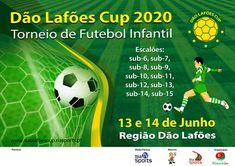 13 e 14 de Junho 2020 Região Dão Lafões.  Nesta edição os escalões em competição serão: sub-6, sub-7, sub-8, sub-9, sub-10, sub-11, sub-12 e sub-13 em futebol de 7, sub-14 e sub-15 em futebol de 11 masculino.
