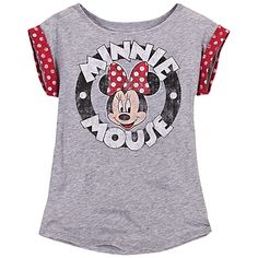 Logo Minnie Mouse Tee for Girls  $16.50